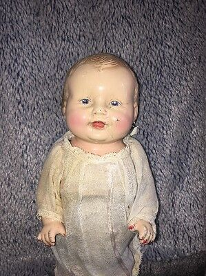 1927 American Character Petite-Happy Tot Doll - Composition Doll - Cloth Body