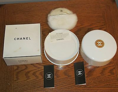 Vintage CHANEL No. 5  8 OZ Paper Sealed Unused 8 oz Bath / Body / Dusting Powder