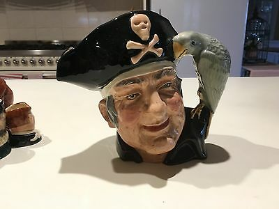 Long John Siliver Toby Jug