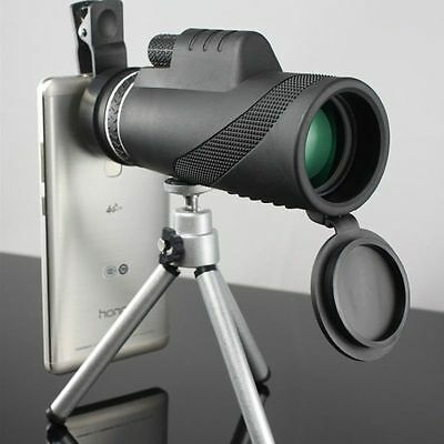 For Mobile Phone 40x Zoom Optical Monocular Telescope Lens Camera with Tripod