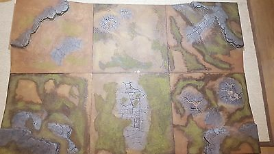 Warhammer 40k Age of Sigmar Realm of Battle Board Painted