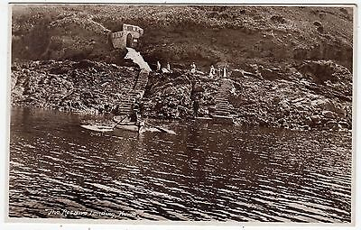 HERM - Channel Islands - The Rosaire Landing - c1930s era Real Photo