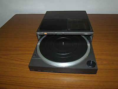 Philips FP440 Retro Front-Loading Linear Tracking Stereo Record Player Turntable