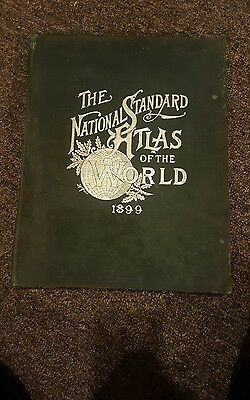 The national standard atlas of the world 1899