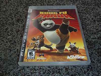 Kung Fu Panda (Sony PlayStation 3, 2008) - Complete