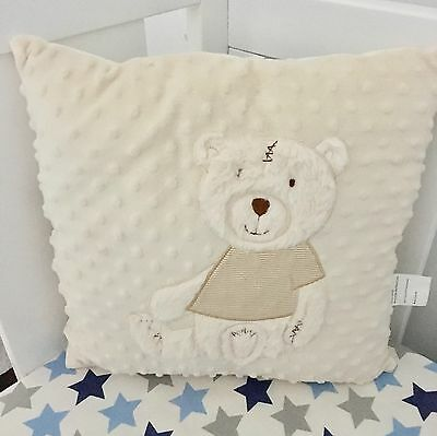 Square Cushion Cover And Insert- 40cm Great For Baby Nursery/kids Room