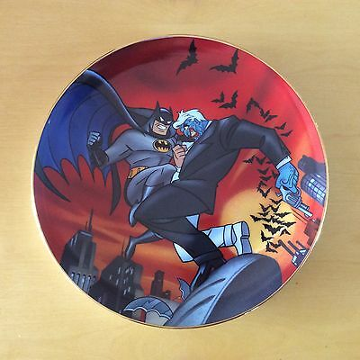 The Adventures Of Batman & Robin Collectors Plate #5 Two Face