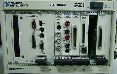 NI PXI-1000B PXI Slot Chassis