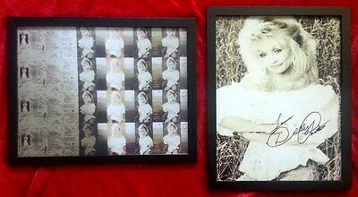 """Dolly Parton  HAND-SIGNED  8 X 10 glossy """"Eagle When She Flies""""  + 8 x 10 ALBUM"""