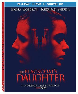 The Blackcoats Daughter (Blu-ray/DVD, 2017, 2-Disc Set) NEW