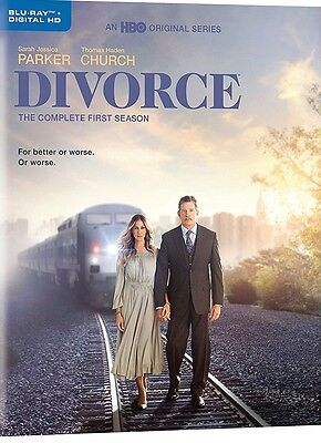 Divorce: The Complete First Season (Blu-ray Disc, 2017, 2-Disc Set) NEW
