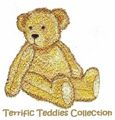 Terrific Teddies Collection - Machine Embroidery Designs On Cd