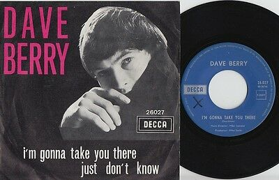 Dave BERRY * 1965 BEAT POPSIKE 45 * Fading Yellow * Listen!