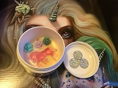 Rare Item!! Unicorn Lashes Swirl + Sparkle Brush Solid Cleaner All Sold Out!