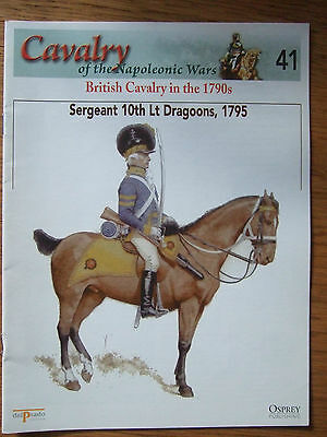 DEL PRADO- CAVALRY-NAPOLEONIC WARS -No 41 BRITISH CAVALRY IN THE 1790s