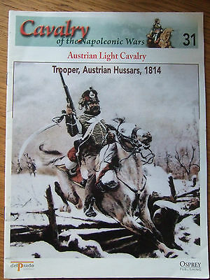 DEL PRADO- CAVALRY-NAPOLEONIC WARS -No 31 AUSTRIAN LIGHT CAVALRY