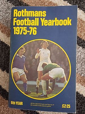 Rothmans Football Yearbook 1975 - 76