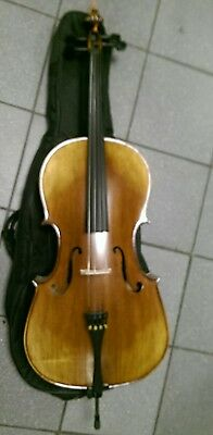 New Cello with case and bow