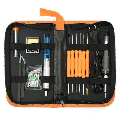 Electric Adjustable Temperature Welding Soldering Iron Tool Kit 220V 60W