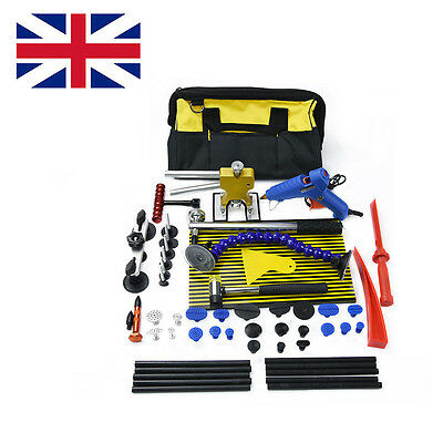 Car PDR Tool Dent Puller Lifter Paintless Repair  Hammer-Removal Line Board Kit