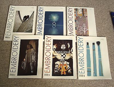 Embroidery magazine 2002 (Vol.53) complete, 6 issues, vg