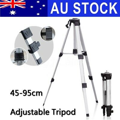 AU Universal Adjustable Tripod Stand Extension Aluminum For Laser Level Leveling