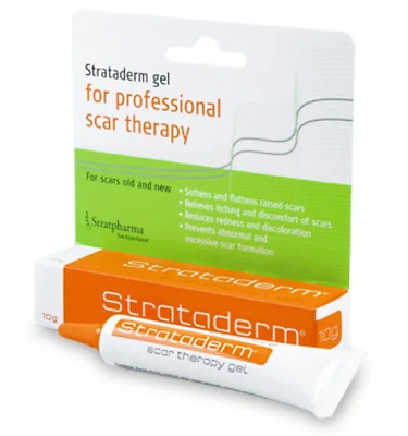 2 X Strataderm Scar Theraphy Gel 10G Free Delivery