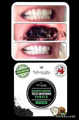 Natural Organic Activated Charcoal Tooth Teeth Whitening Powder Paste #4