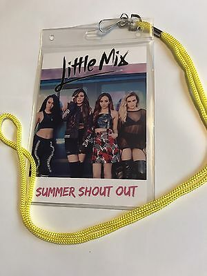 Little Mix 2017 Tour Tag/souvenir Replica Lanyard