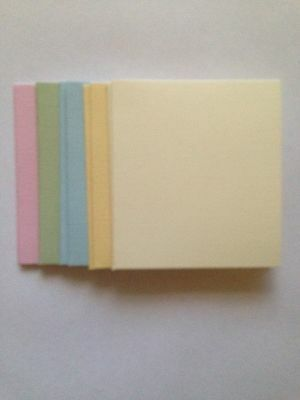 10 Blank Coloured Mini Cards and Envelopes - All Occasions