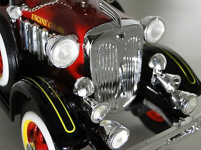 1 Pedal Car 1920s Cadillac Truck Fire Engine Red Vintage Midget Metal Model 24