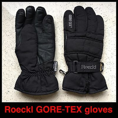 Roeckl GORE-TEX & insulated gloves (waterproof fabric & fleece inner)