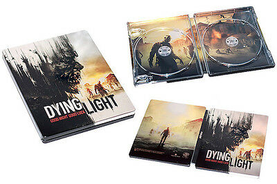 Dying Light New Steelbook Ps4 Pc Xbox G2 Size Steelbox Metal Case Sealed