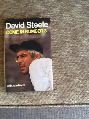 Come In Number 3 _ Signed - David Steele - 1977 - First Edition