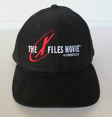 Vintage THE X FILES Movie 1998 Promo Baseball Snapback Hat Cap *Like New