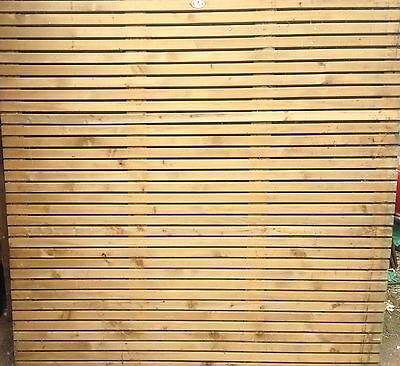 3X Contemporary Fence Panel 1.8M X 1.8M