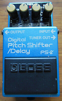Boss PS-2 Pitch Shifter & delay Guitar Effect Pedal made in Japan
