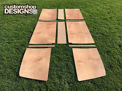 VW Splitscreen Camper Van Interior Roof 4mm 'Flexi' Ply Lining Trim Kit