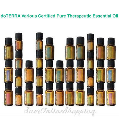 doTERRA Various Therapeutic Essential Oil Aromatherapy + FREE* Herbaceous Pack