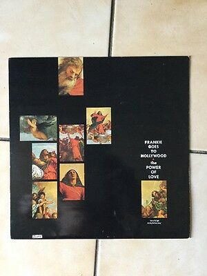 "FRANKIE GOES TO HOLLYWOOD  - THE POWER OF LOVE - ( 12"" Vinyl Single ) ref2"