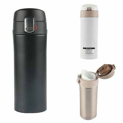 350ml Stainless Steel Vacuum Flask Water Bottle Thermos Coffee Travel Mug Cup