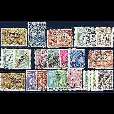 PARAGUAY Selection. 19 Values. Unchecked. Condition Varies. (CA27N)