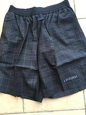 Tibhar Table Tennis Black Grey Cubes Short  size L