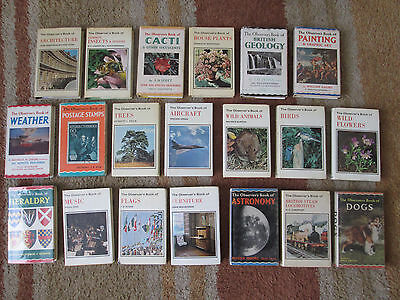 Bundle, Lot of 20 Warne's OBSERVER'S Books all with wrappers or lamintated