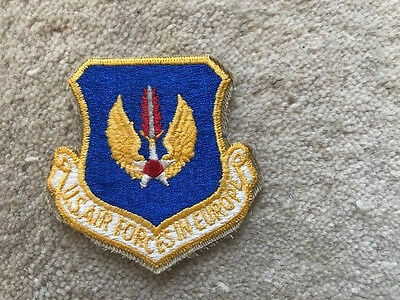 'u.s. Air Forces In Europe' Patch/badge.  Genuine Item From The U.s.a.