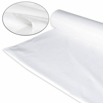 "New White Sheeting Fabric Poly Cotton Sheeting Fabric 96"" Wide"