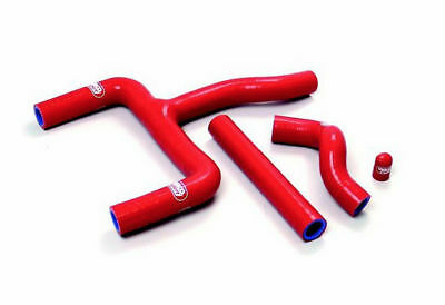 Beta Rr250 Rr300 13-14 Red Thermo Bypass Samco Silicone Radiator Hose Kit