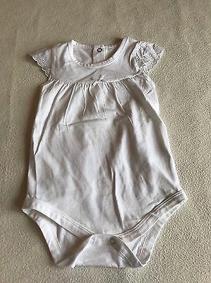 Baby Girls Clothes 3-6 Months - Pretty Vest  Top Bodysuit -