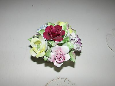 Royal Doulton Flowers In Pot  Ornament