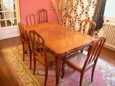 Antique furniture, French dining table